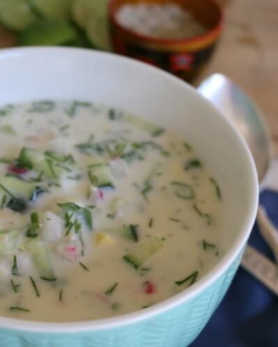 Cold Summer Soup – Okroshka