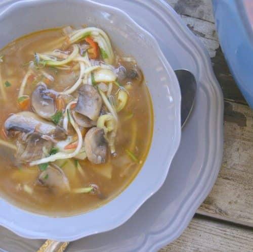 One Pot Lamb & Vegetable Soup