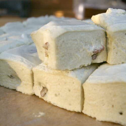 Matcha Pecan Marshmallows