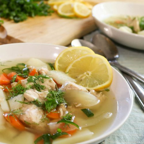 Easy Nourishing Fish Soup