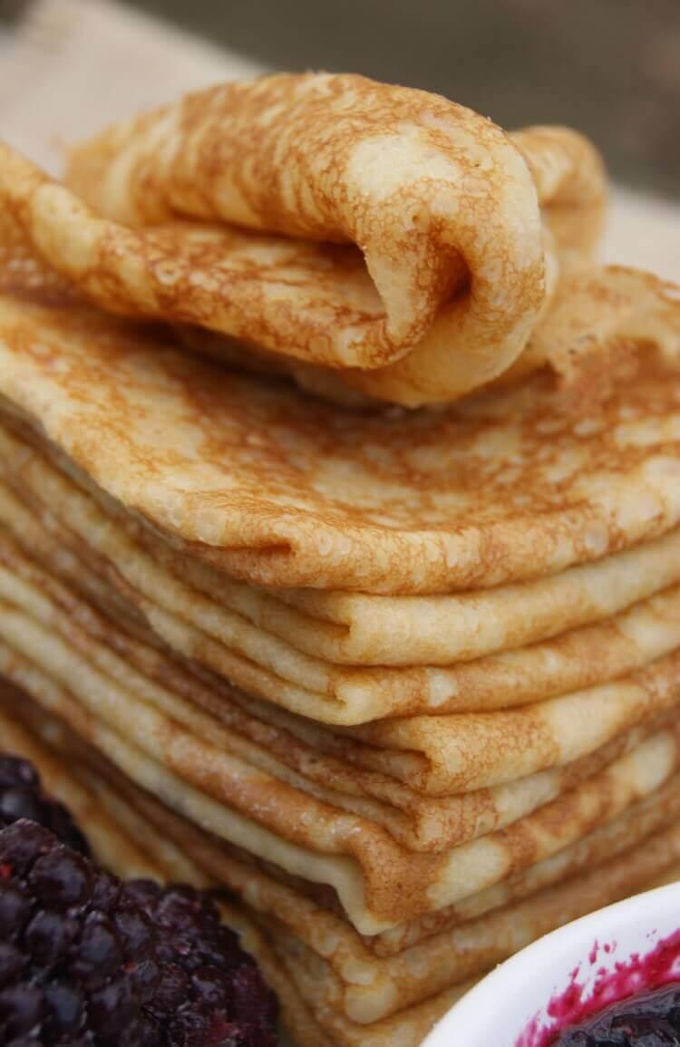 Crepes Recipe Easy Savory