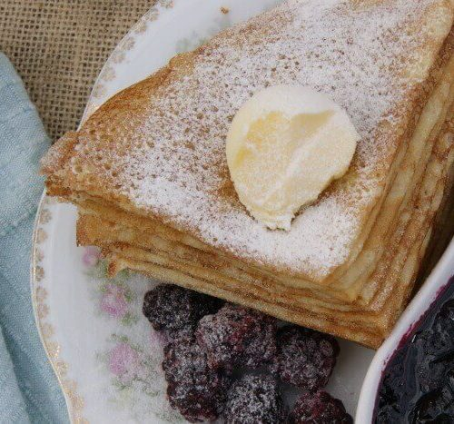 Grain-Free French Crepes - the ultimate treat to grain-free cooking. Made with cassava flour and real food ingredients. Check out this recipe at prepareandnourish.com!