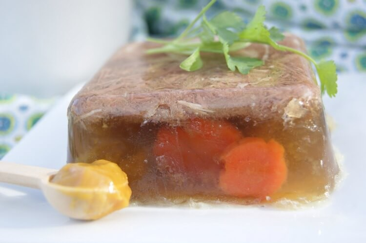 How to Make Aspic (Meat Jello)