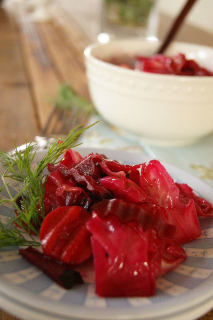Beet-Up Cabbage Salad