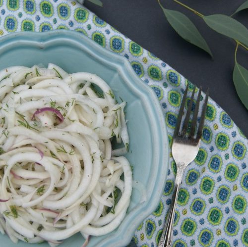 Refreshing Turnip and Dill Salad