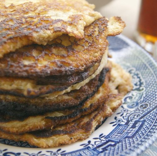 Banana and Egg Pancakes – Two Ingredients