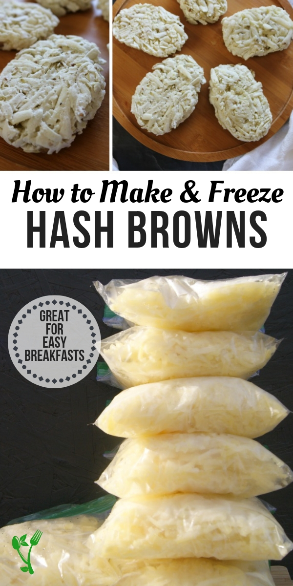 How to Make and Freeze Hash Browns -Find out just how easy it is to make and freeze hash browns that are free from other starches and nasty oils. Naturally Paleo and Whole30. #whole30 #paleo
