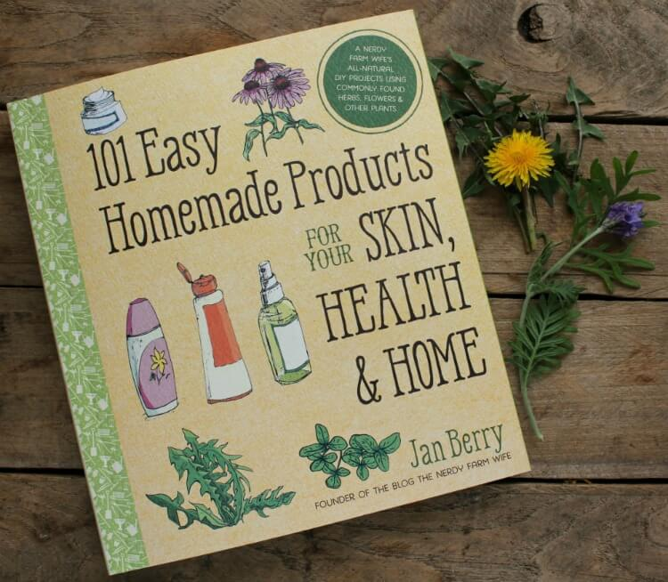 101 Easy Homemade Products for Skin, Health, & Home - Review plus Giveaway