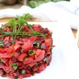 Nourishing Beet Root Vegetable Salad - great for picnics and can be made days in advance. Full of probiotics and nutrition.