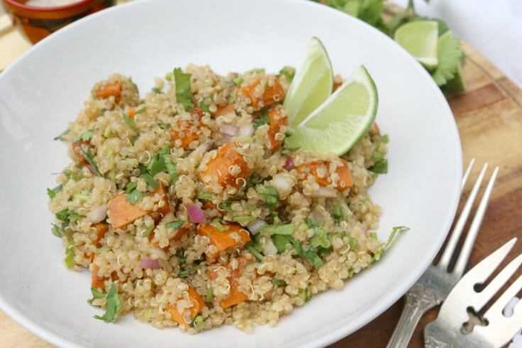 Quinoa Sweet Potatoes Salad