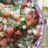 Fresh & Fermented Tomato Salsa - Made with garden-fresh tomatoes and perfectly flavored with hot peppers, garlic and cilantro - this Pico de Gallo comes together seamlessly and tastefully.
