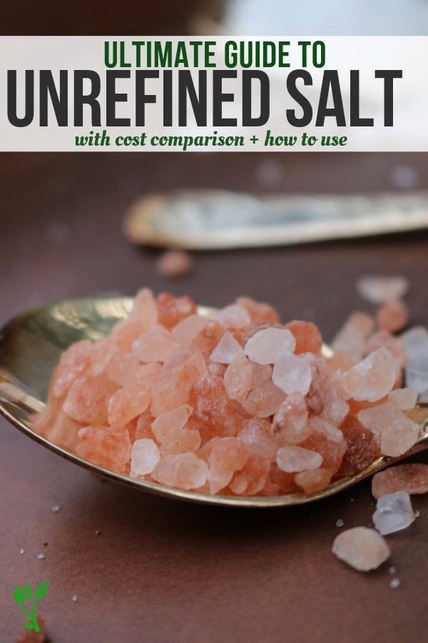 Himalayan Sea salt and an ultimate guide to unrefined salt