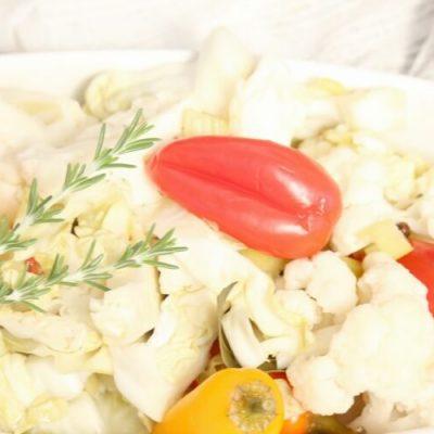 Easy Fermented Vegetable Medley