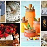 24 Mason Jar Crafts For Fall - Use mason jars to make home decor, crafts and gifts!
