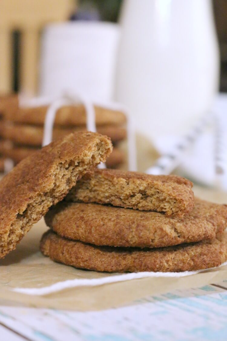 Grain Free Snickerdoodles - simple recipe | 8 ingredients | paleo friendly