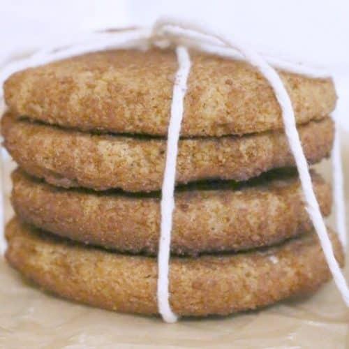 Grain Free Snickerdoodles (Paleo)