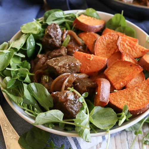 Paleo Vietnamese Shaking Beef Bowl (30 Minute Meal)