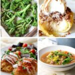 Collage of 8 holiday recipes