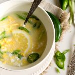Keto Egg Drop Soup (5 minutes) - This Keto Egg Drop Soup is rich in nutrition and healthy fats. It doesn't have a thickener making this an easy Paleo, Whole30, or low carb breakfast, lunch or dinner. #lowcarb #whole30
