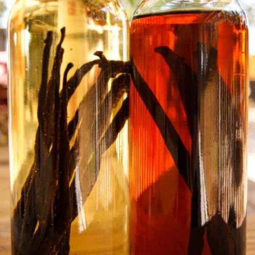 How to Make Vanilla Bean extract - in two bottles