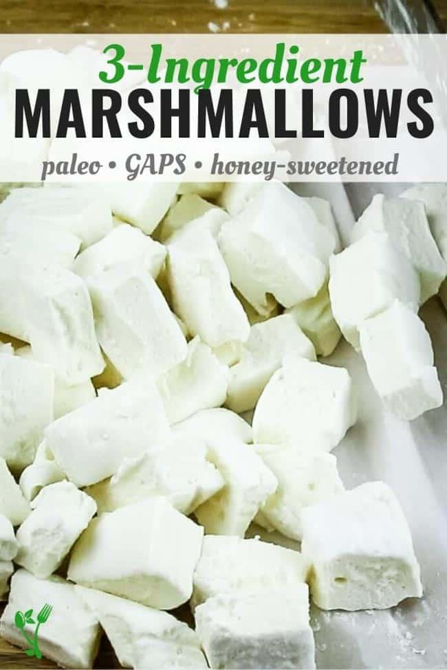 3 Ingredient Marshmallows
