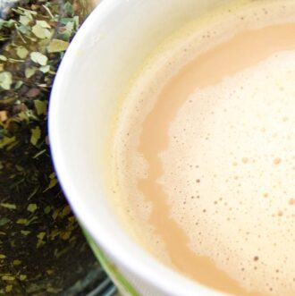 Butter coffee but using herbal coffee substitute