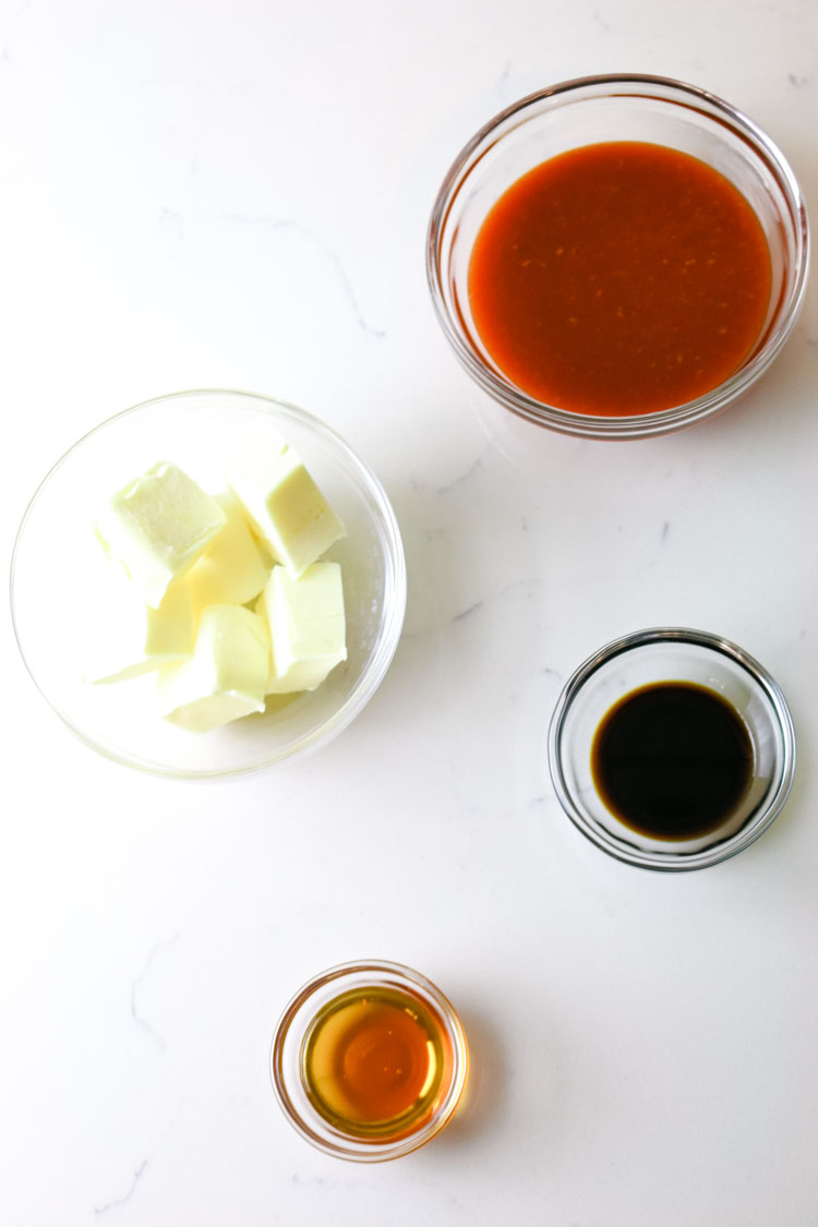 Ingredients for Buffalo Wing Sauce