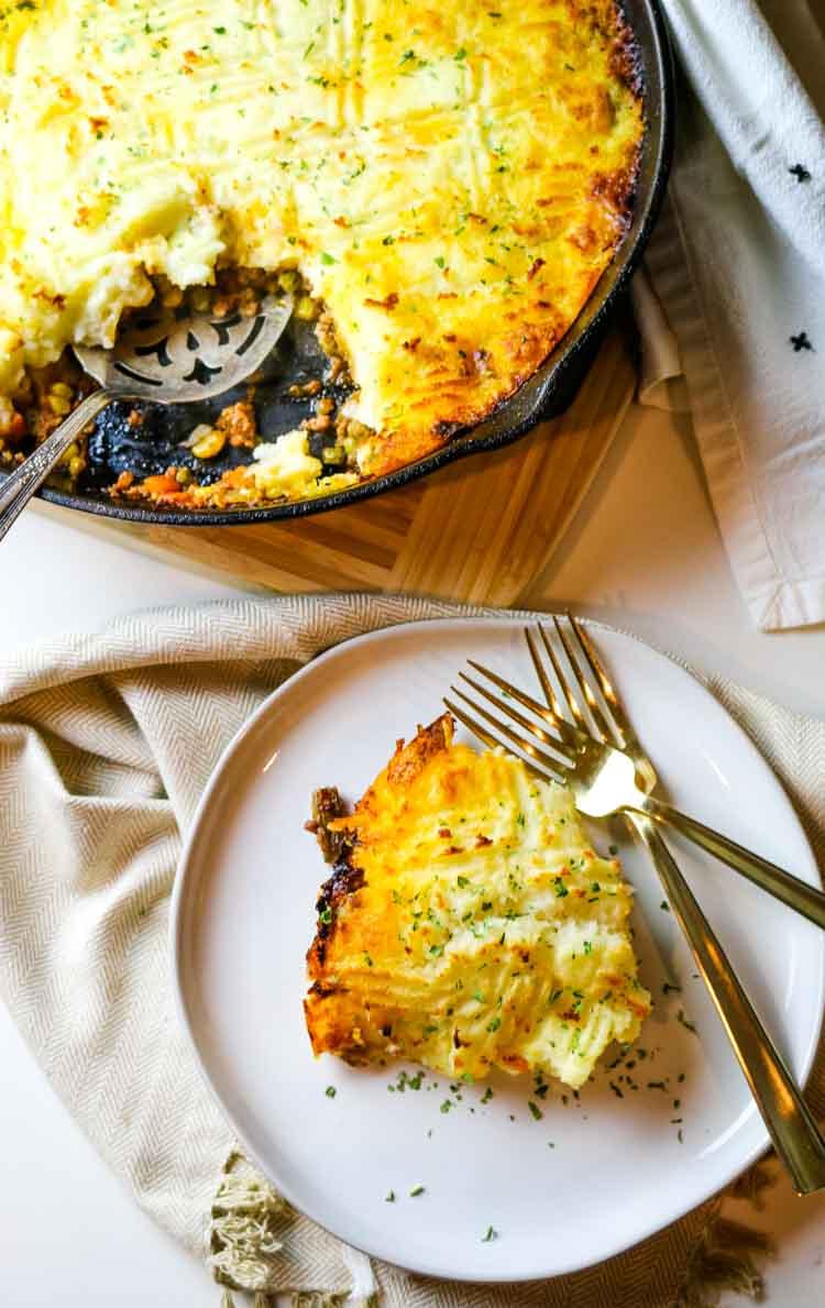 Easy shepherd's pie recipe with ground lamb