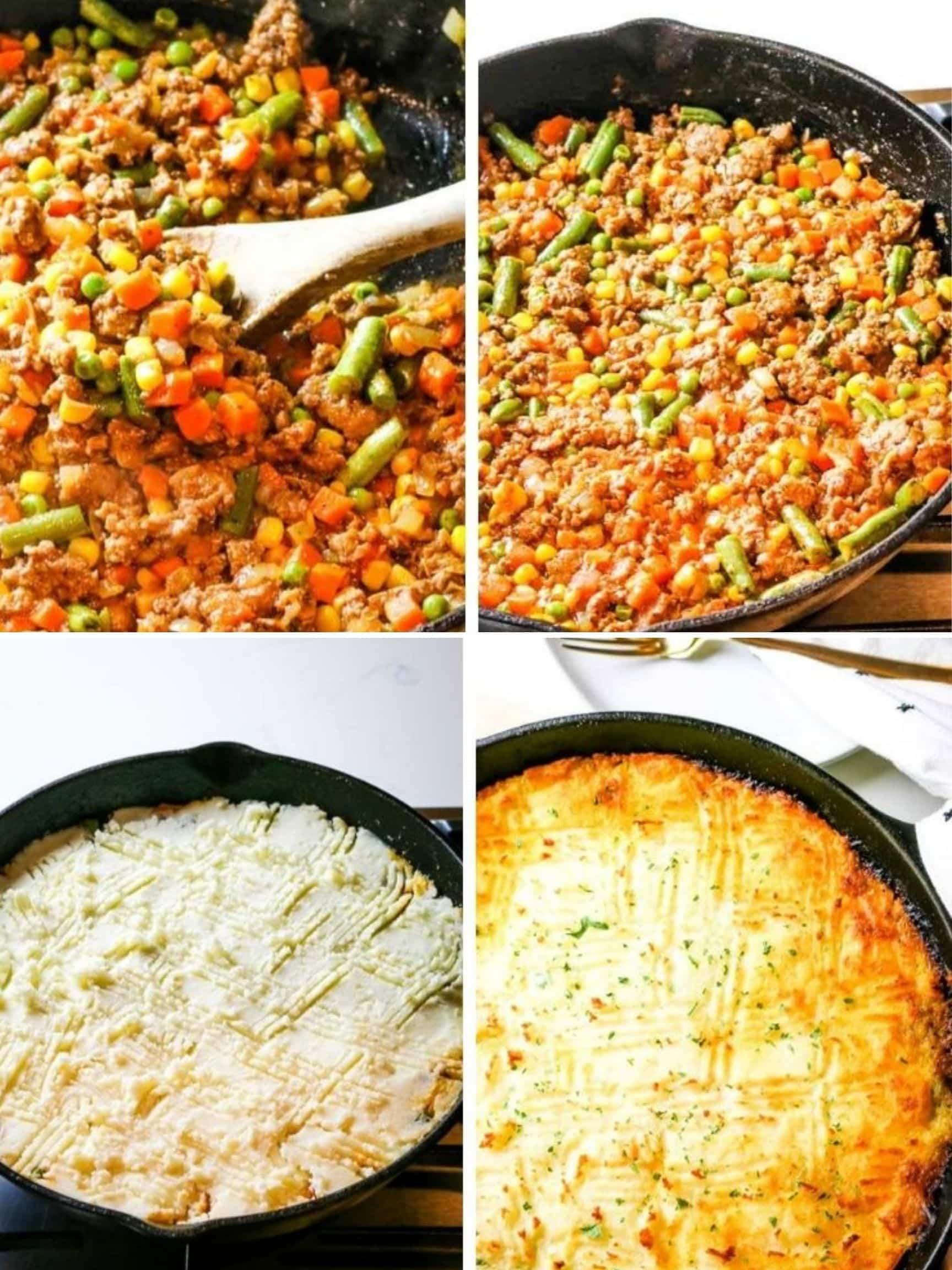 Simple Steps to Shepherd's Pie recipe